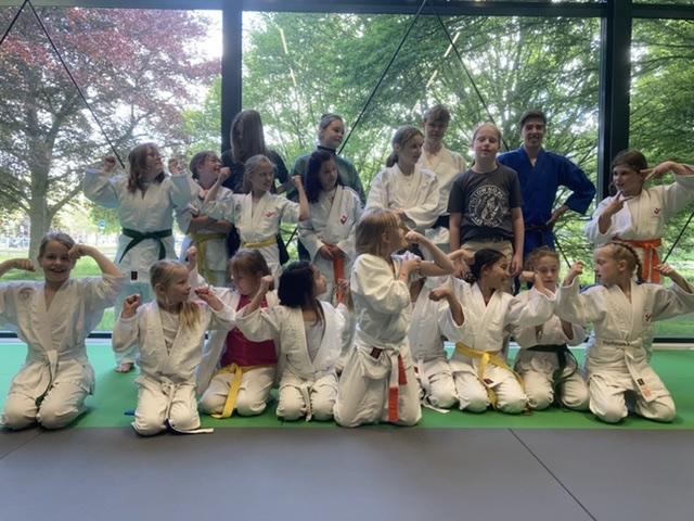 Meisjesdag de eerste fantastische judo ervaring na lange tijd!
