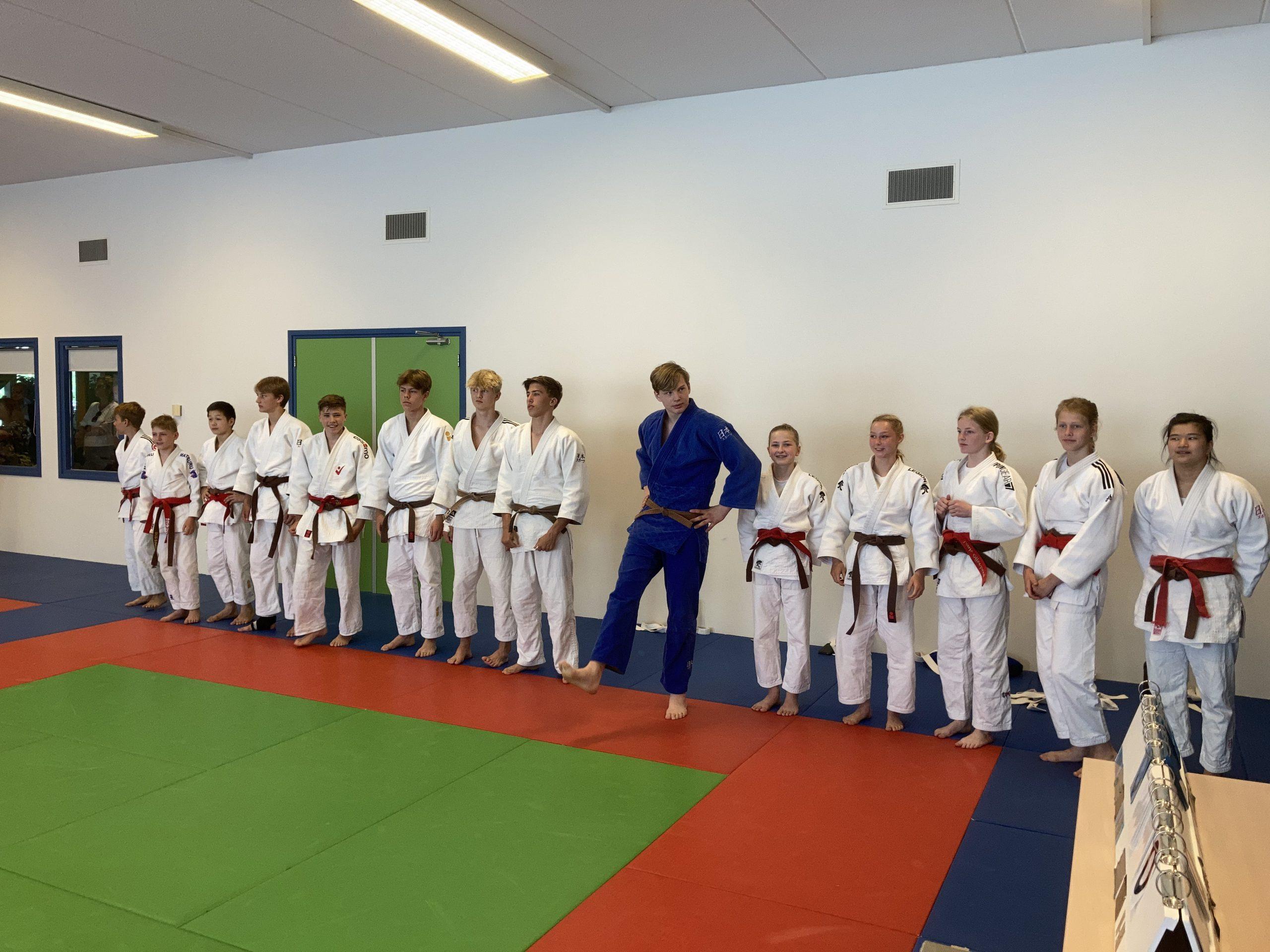 Judoschool Haagsma vol in een kwalificatie weekend!