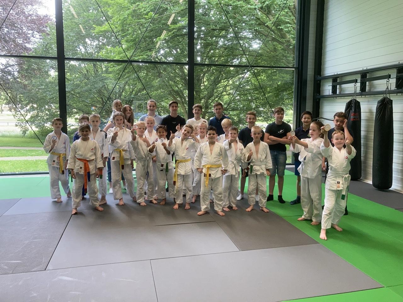 Judoka's Judoschool Haagsma stonden weer op de wedstrijdmat